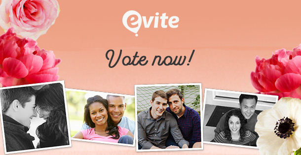 Evite engagement contest