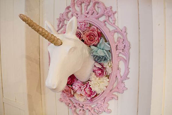 Fun Unicorn Party Decorations- See more lovely Unicorn Party Ideas on B. Lovely Events