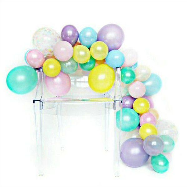 Love this fun balloon garland! - See why they are our new obsession on B. Lovely Events