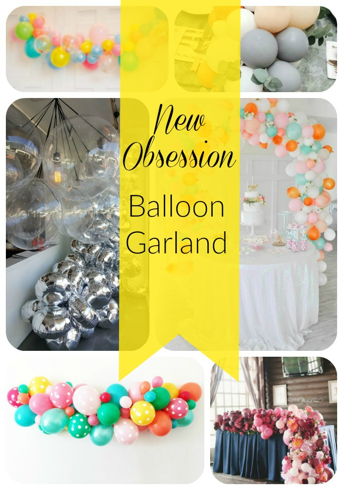 New Obsession- Balloon Garland- B. Lovely Events