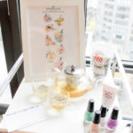 Home Spa Day Tea Party- Manicure and Pedicure station- B. Lovely Events