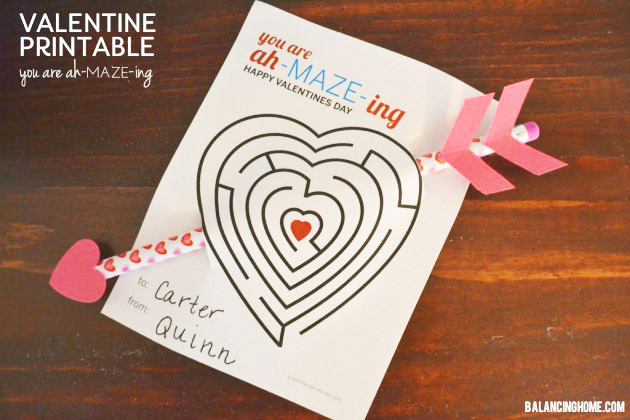 photograph regarding Pencil Valentine Printable called Loving this yr! - Pencil Valentines Working day Playing cards With Free of charge