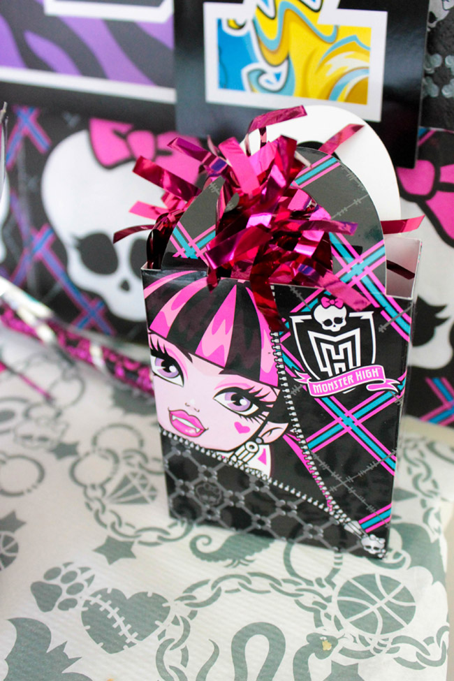 Monster High Party Decorations -See More Party Details on B. Lovely Events