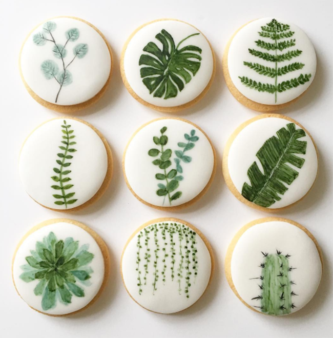 Love these Cactus Cookies! - See Lovely & Fun Cactus Ideas on B. Lovely Events