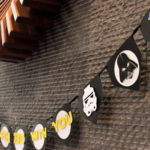 DIY Star Wars Banner- See how to make it on B. Lovely Events