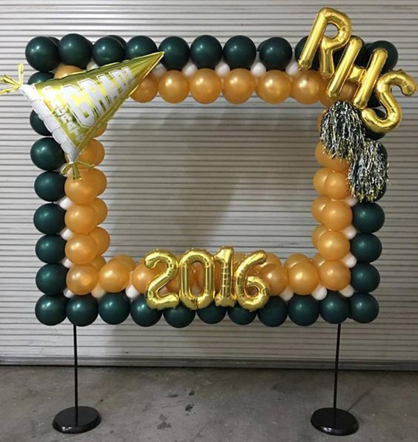 Cool Graduation Selfie station! - See more graduation Party ideas on B. Lovely Events