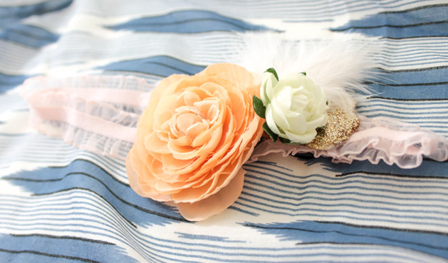 DIY BOHO Headbands- Learn how to make this cutie on B. Lovely Events