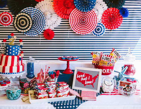This 4th of july party is amazing!- See 10 of our favorite 4th of July Parties on B. Lovely Events!