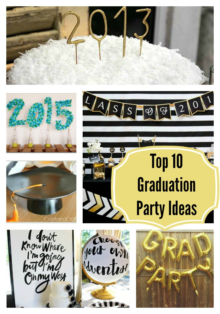 Top 10 graduation Party Ideas- B. Lovely Events
