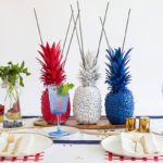 how adorable is this 4th of July party table - See 10 of our favorite 4th of July Parties on B. Lovely Events!