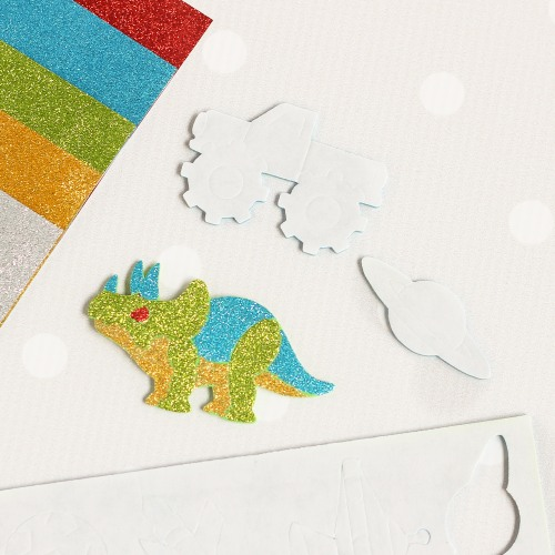 Love these dinosaur stickers for a dino party!