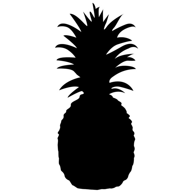 pineapple-silhouette- B. Lovely Events