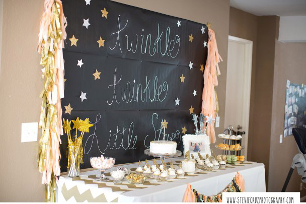 Fab little star birthday party- See more Space, Star and Galaxy party Ideas on B. Lovely Events