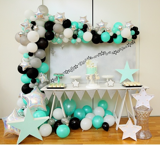 Fabulous little star party!- See more Space, Star and Galaxy party Ideas on B. Lovely Events