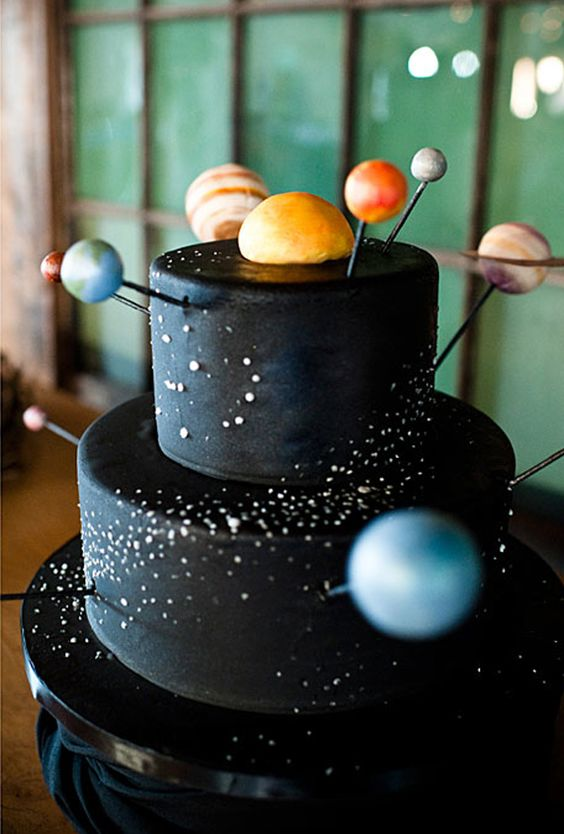 Love this Galaxy cake!- See more Space, Star and Galaxy party Ideas on B. Lovely Events