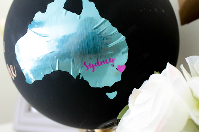 DIY Australian Home Decor- There is No place like home - See how to make this and more on B. Lovely Events