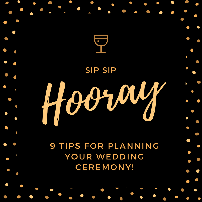 9 Tips For Planning Your Wedding Ceremony- B  Lovely Events
