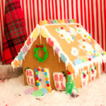 Winter Wonderland Gingerbread House - B. Lovely Events