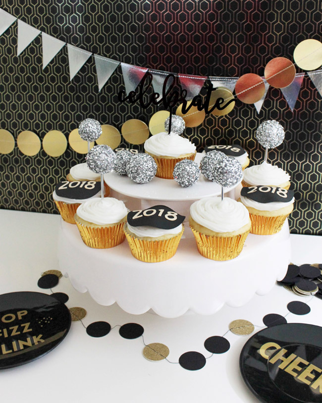 New Year's Eve Cupcakes B Lovely Events