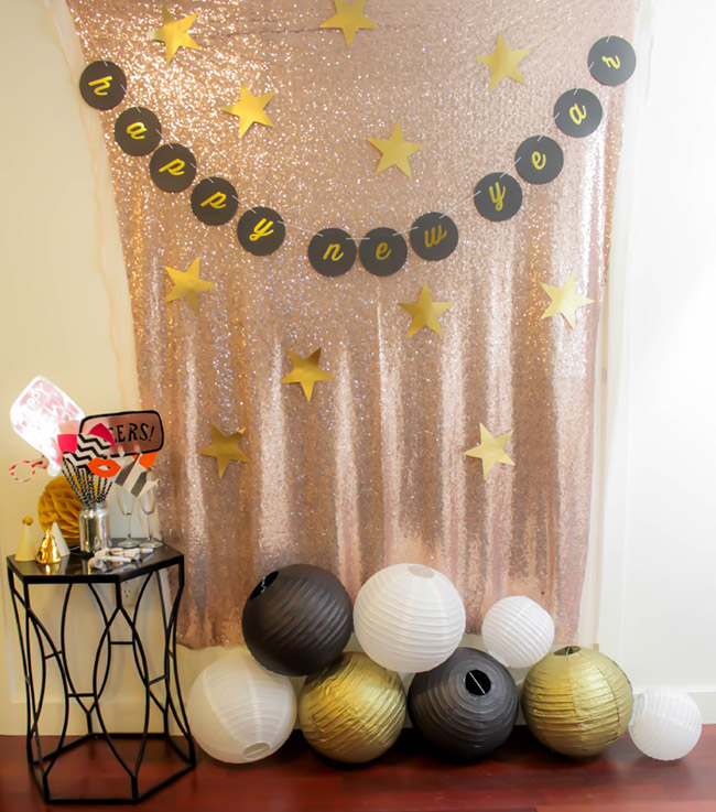New Year's Eve Photo Booth -B. Lovely Events