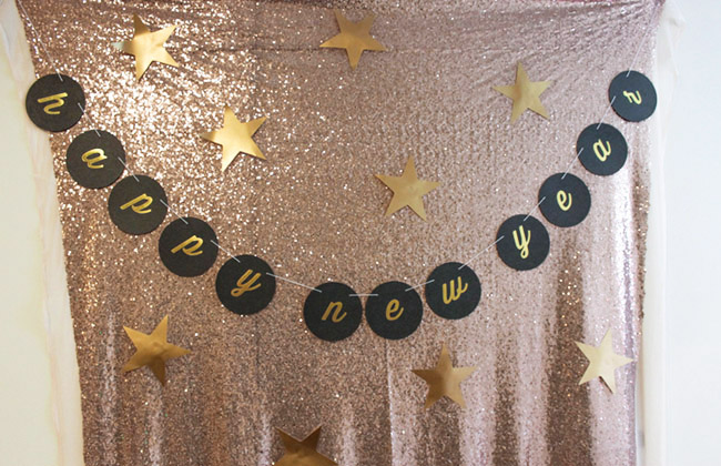 New Year's Eve Photo Booth - B. Lovely Events