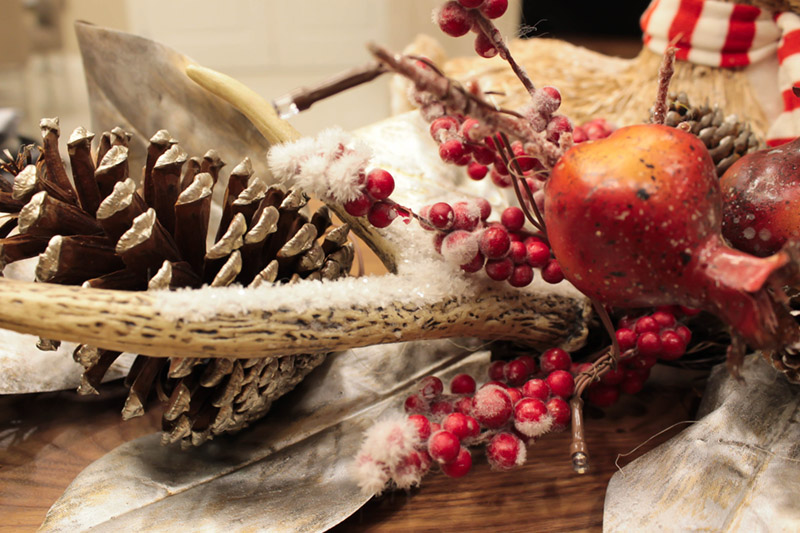 Rustic Winter Christmas Table - B. Lovely Events