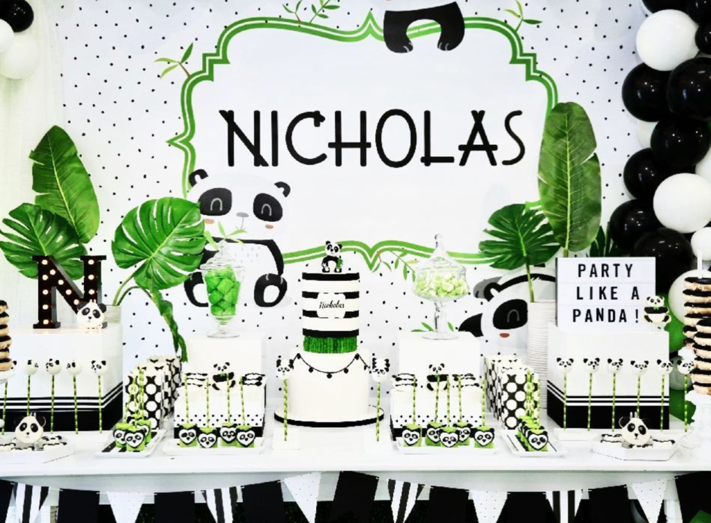 such a fun panda party -See more Panda Party ideas on B. Lovely Events