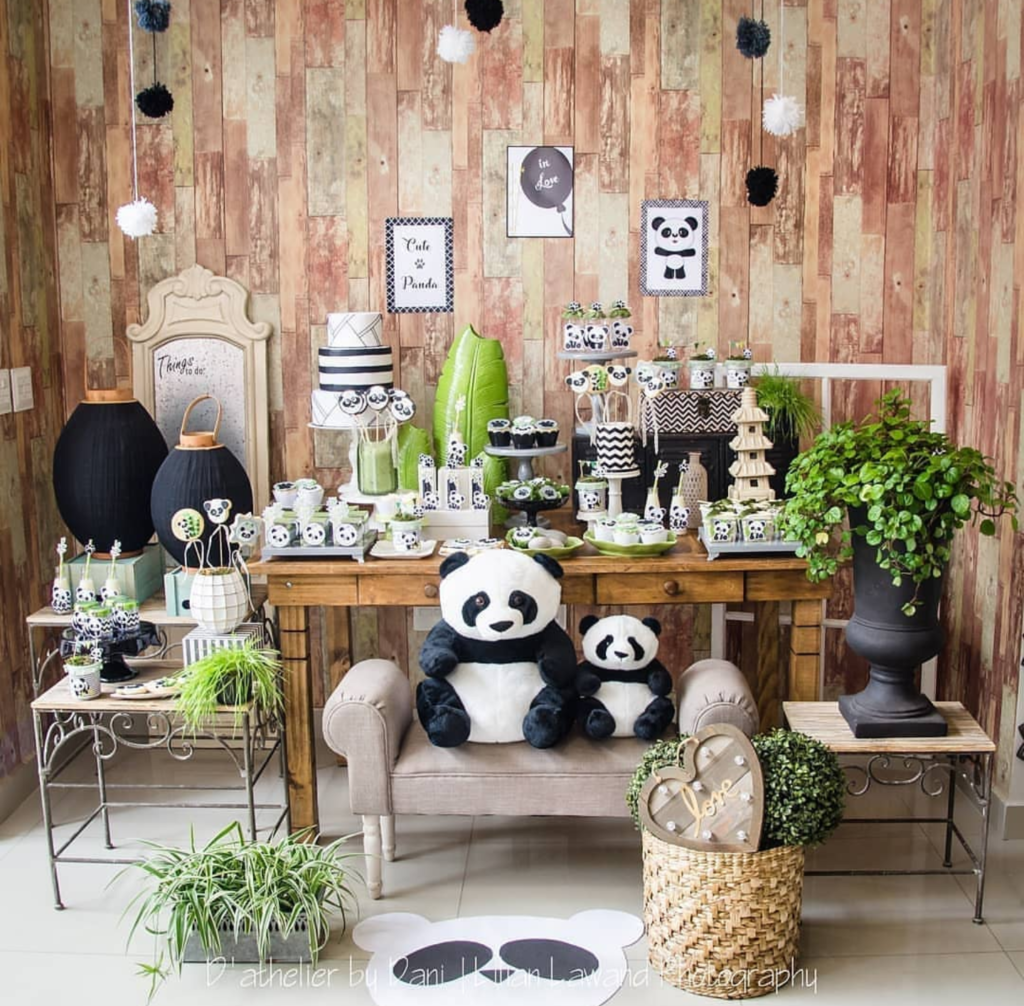 the cutest panda party-See more Panda Party ideas on B. Lovely Events