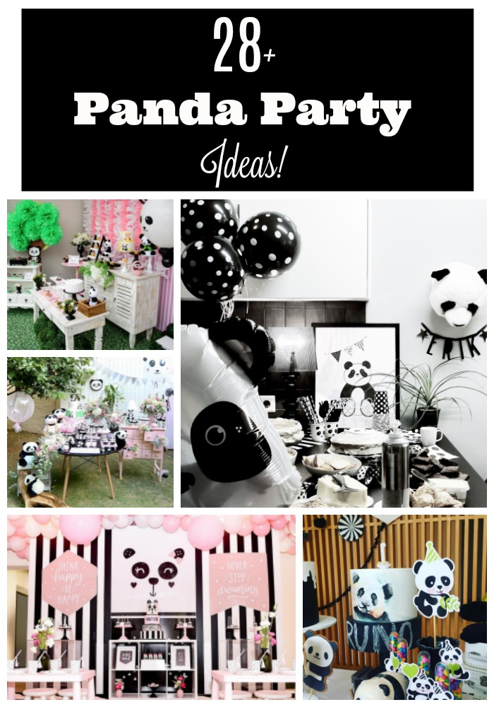 28 Panda Party Ideas- B. Lovely Events