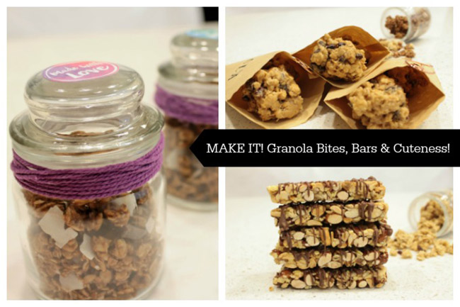 Granola Bites, Bars & Cuteness - B. Lovely Events