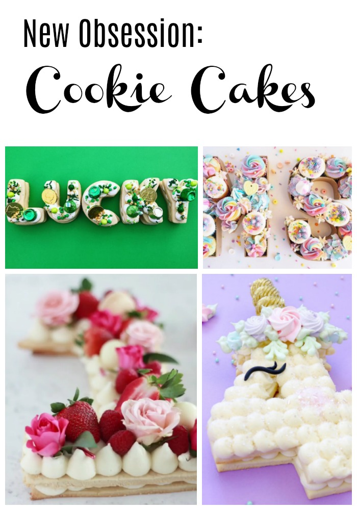 New Obsession Cookie Cakes- B. Lovely Events