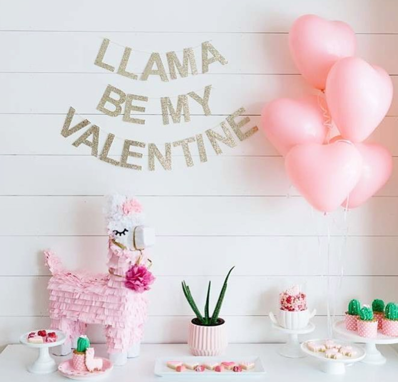 Cute llama party love - See more llama party love on B. Lovely Events