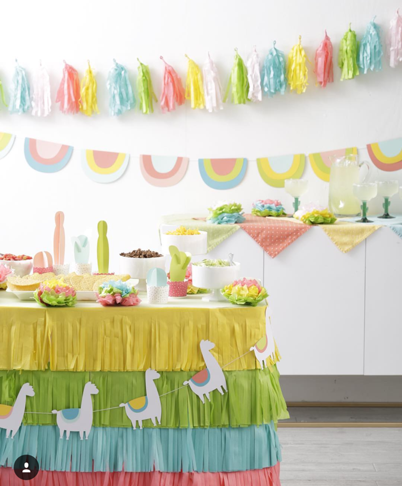 I love this Llama party - See more llama party love on B. Lovely Events