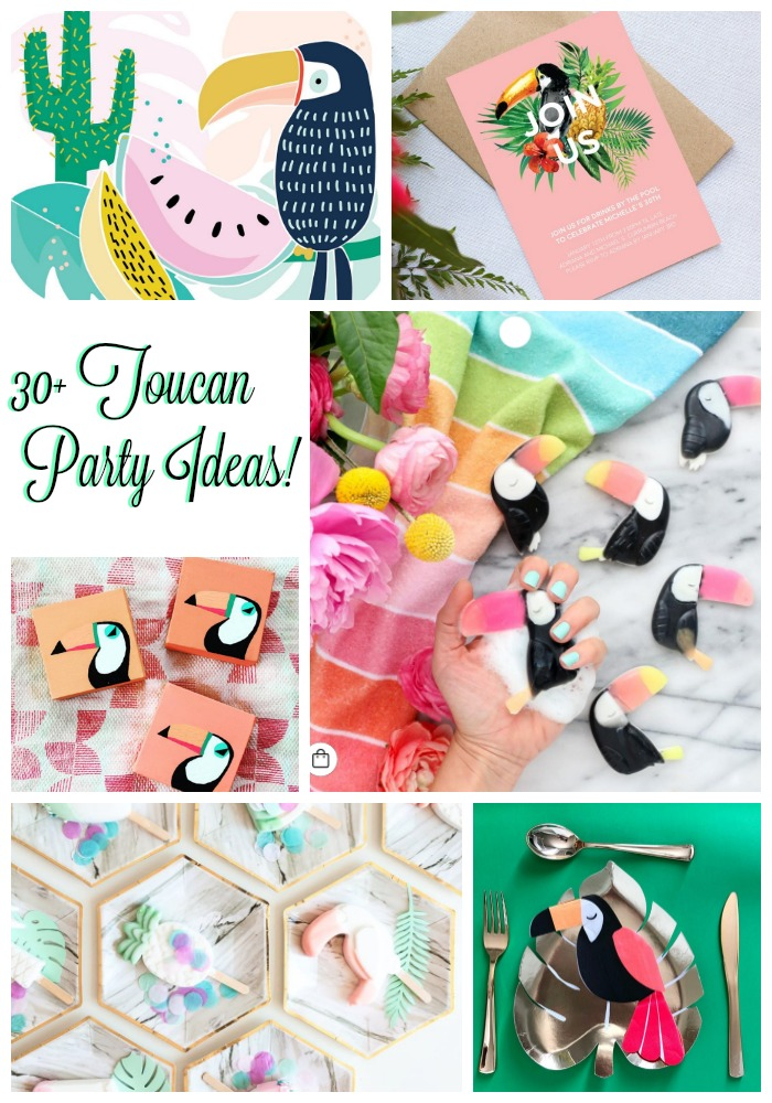 30+ Toucan Party ideas on B. Lovely Events!