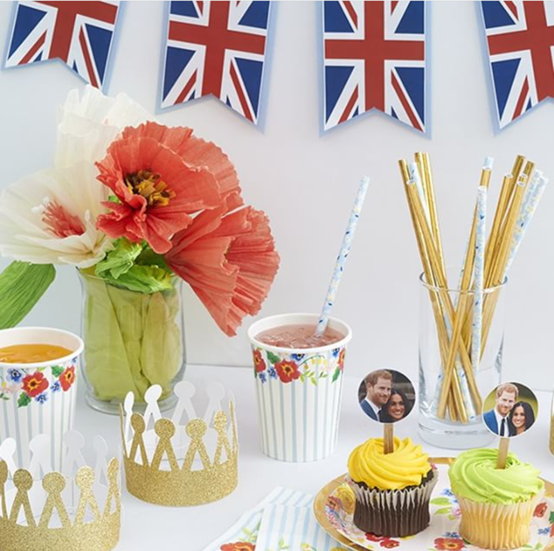 absolutely adorable royal wedding party! - See More Royal Wedding Lovlieness at B. Lovely Events #royalwedding #partyplanning #partythemes