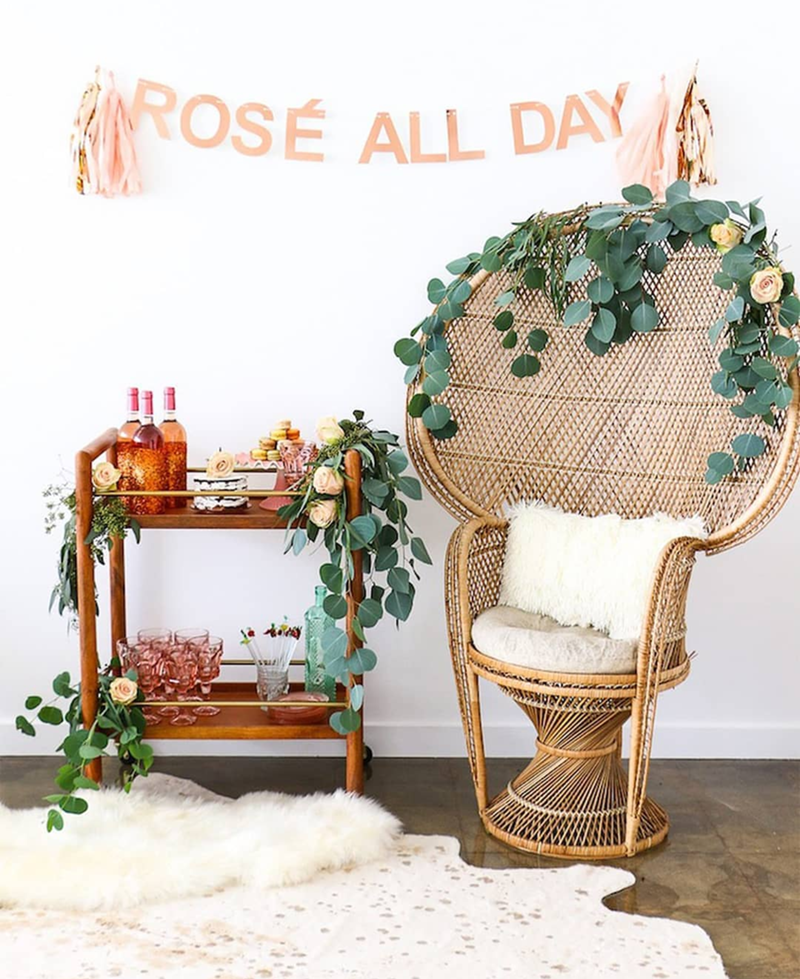 National Rosé Day- See our favorite Rosé Party Ideas on B. Lovely Events!