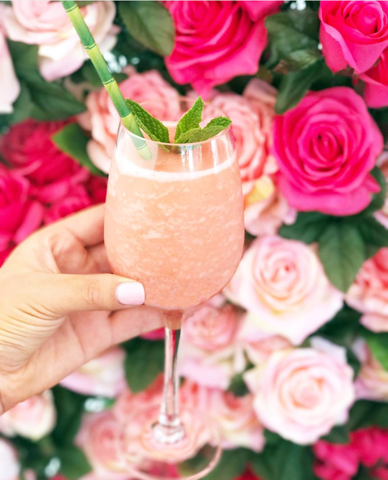 Rosé Frose drink national Rosé day- See our favorite Rosé Party Ideas on B. Lovely Events!