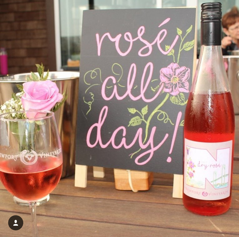 Rosé all day! National Rosé day!- See our favorite Rosé Party Ideas on B. Lovely Events!
