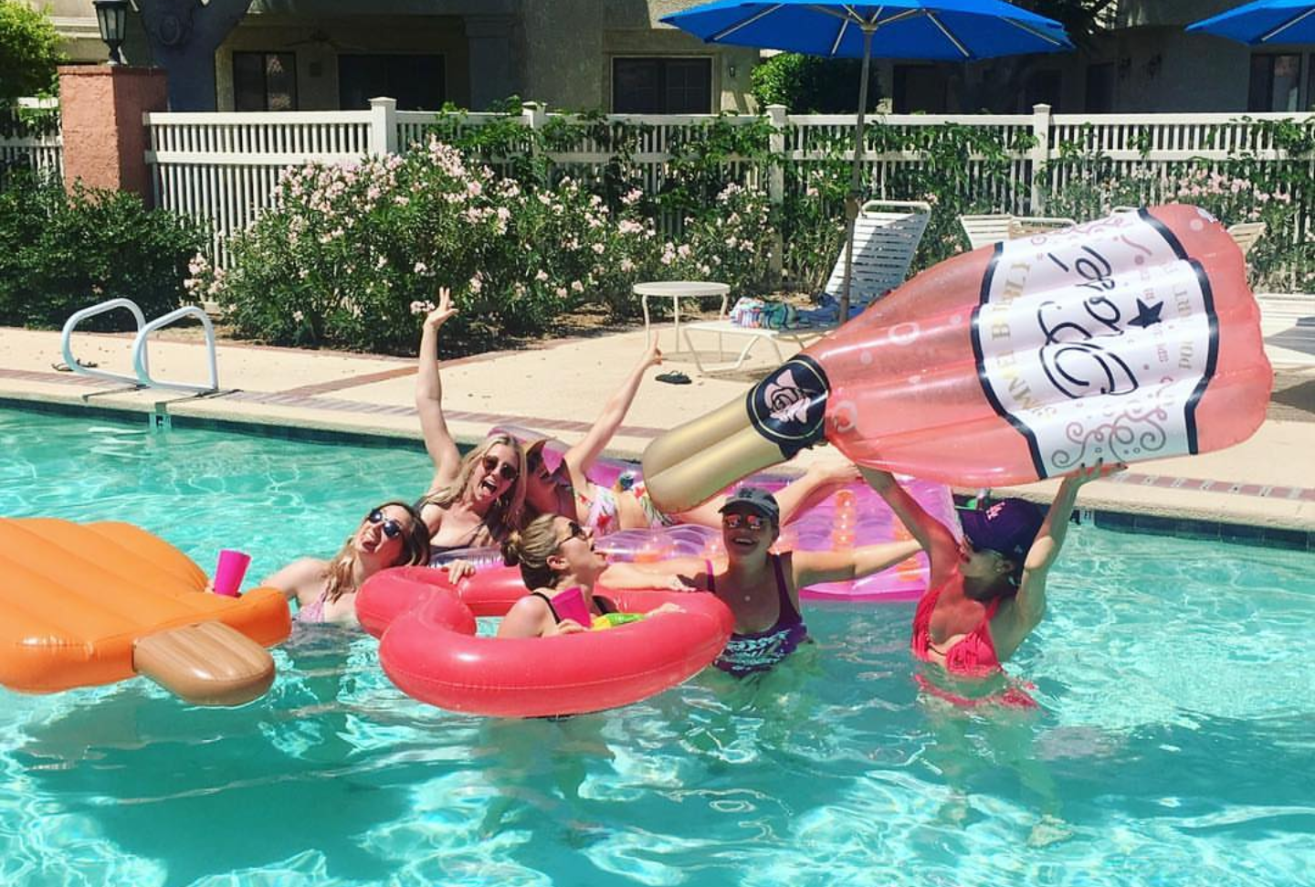 national Rosé day pool party- See our favorite Rosé Party Ideas on B. Lovely Events!