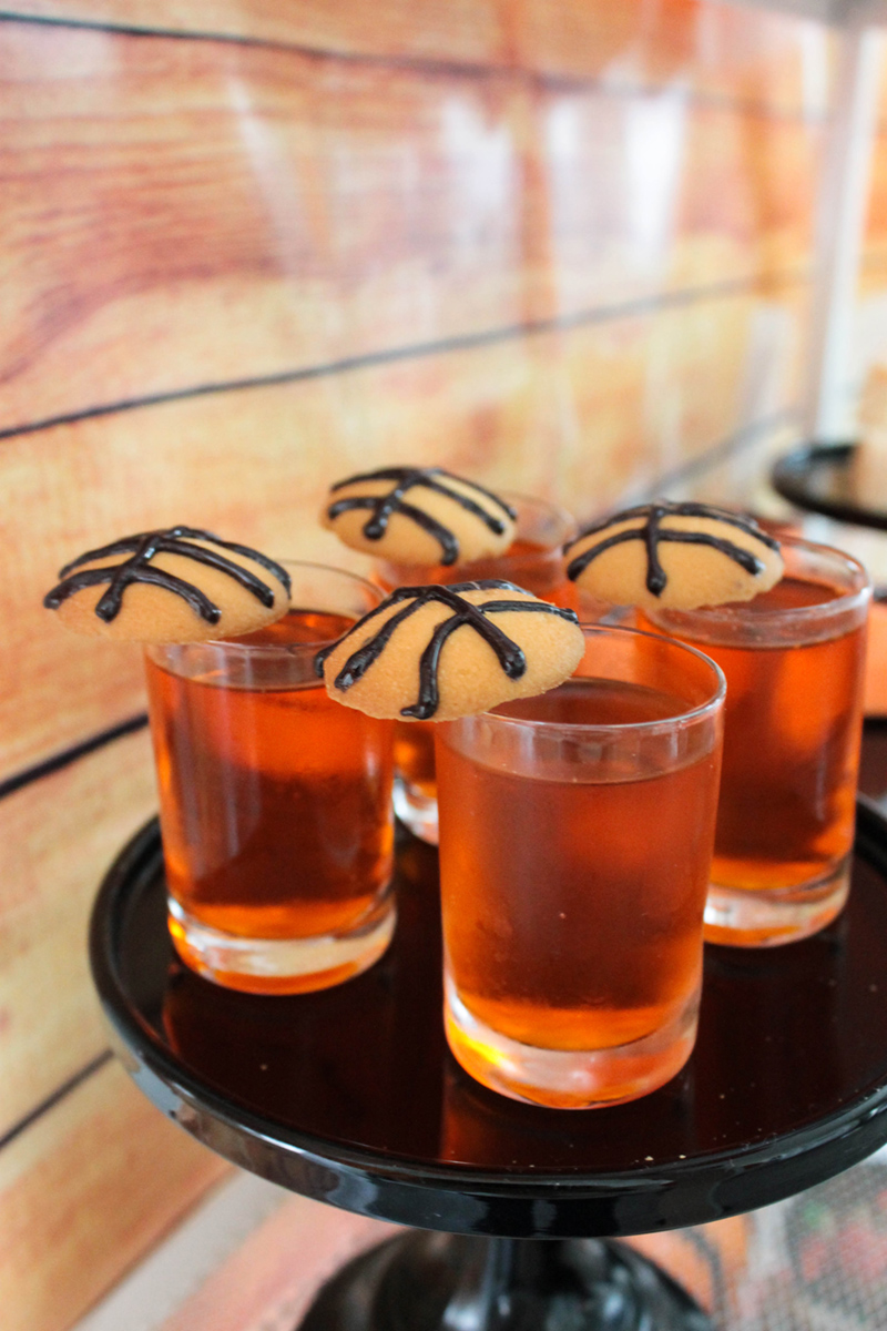 these jello shooters for a basketball party cant get any cuter! #basketballparty #basketball