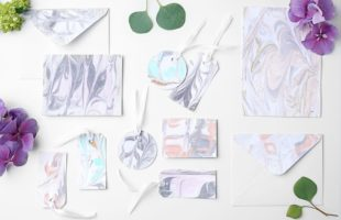DIY Marbled Paper!