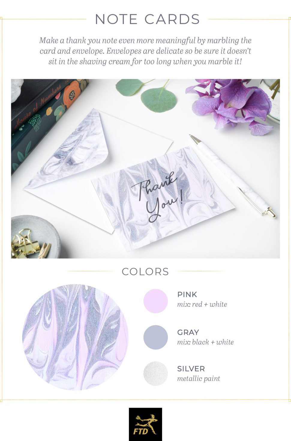 DIY marbled gift tags- See why we love them on B. Lovely Events!