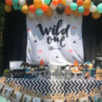 Love this Wild One Party!- See More Wild One Party Ideas and Inspirations On B. Lovely Events! #birthday #birthdayparty #kidsparty #1stbirthday