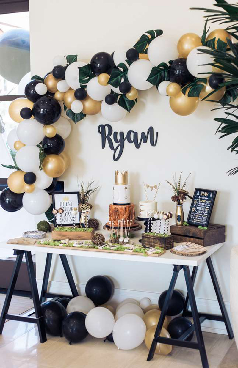 Love this where the wile things are wild one party! - See More Wild One Party Ideas and Inspirations On B. Lovely Events! #birthday #birthdayparty #kidsparty #1stbirthday