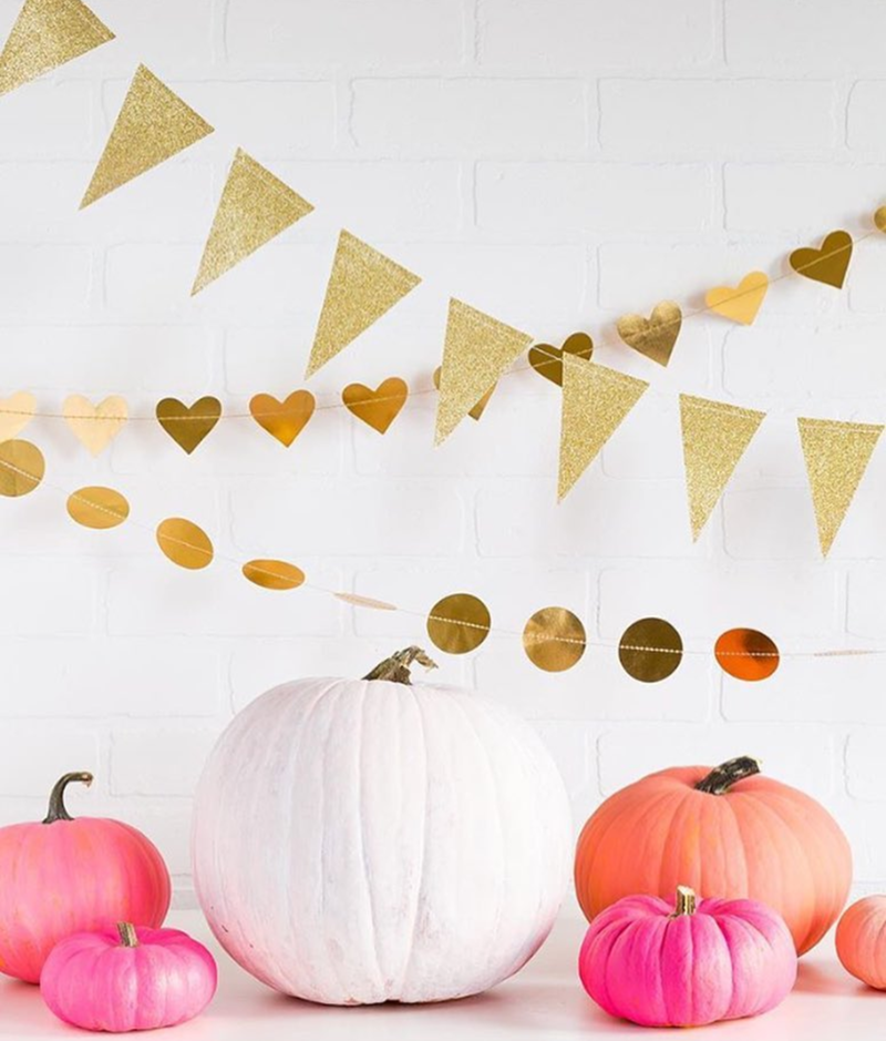 Pink is so Halloween this year! - See more Pink Halloween Pretty on B. Lovely Events #halloween #pink #partyideas
