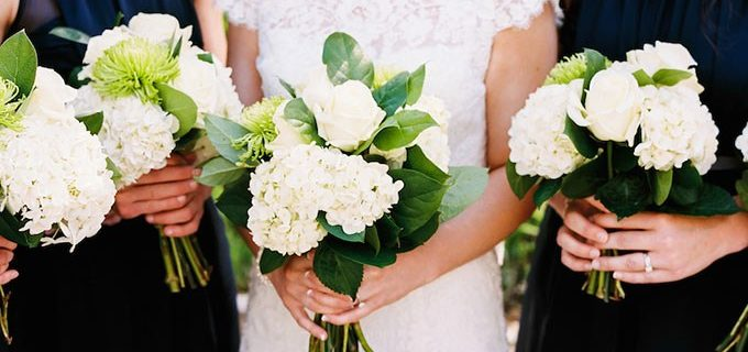 Hydrangea wedding bouquet tips!