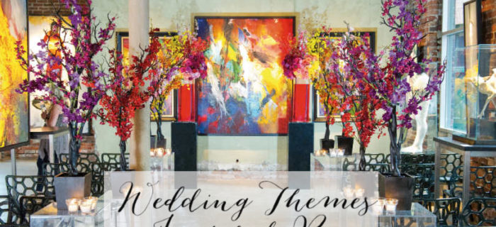 Wedding themed inspired by art!! - B. Lovely Events
