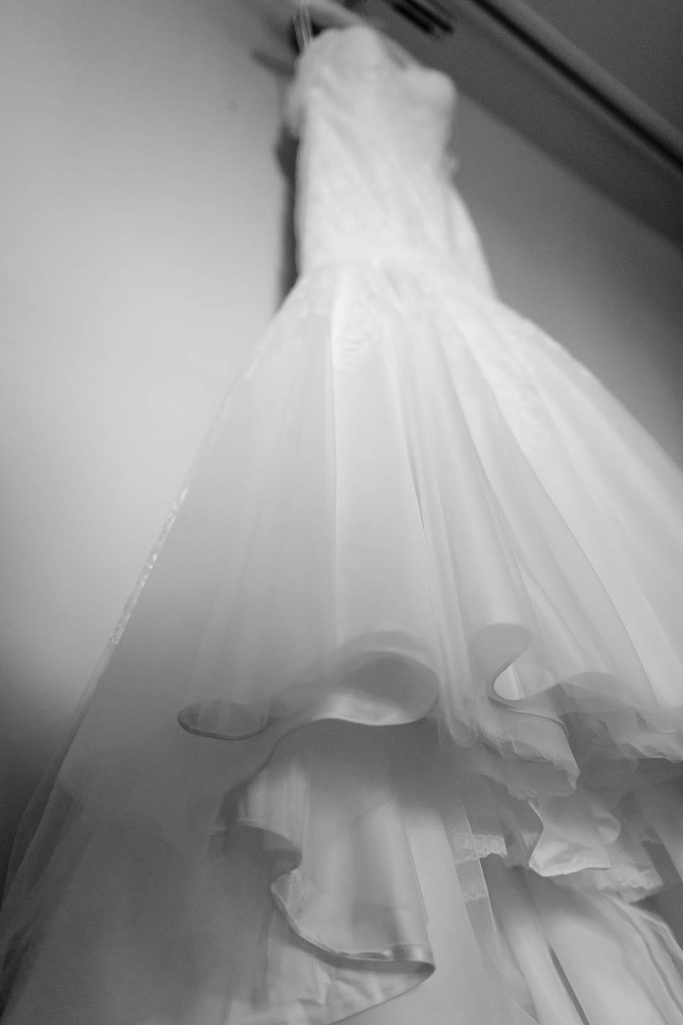 Bec & Callum Real Wedding Dress Shot- See More at B.Lovely Events! #wedding #weddingideas #weddingtips