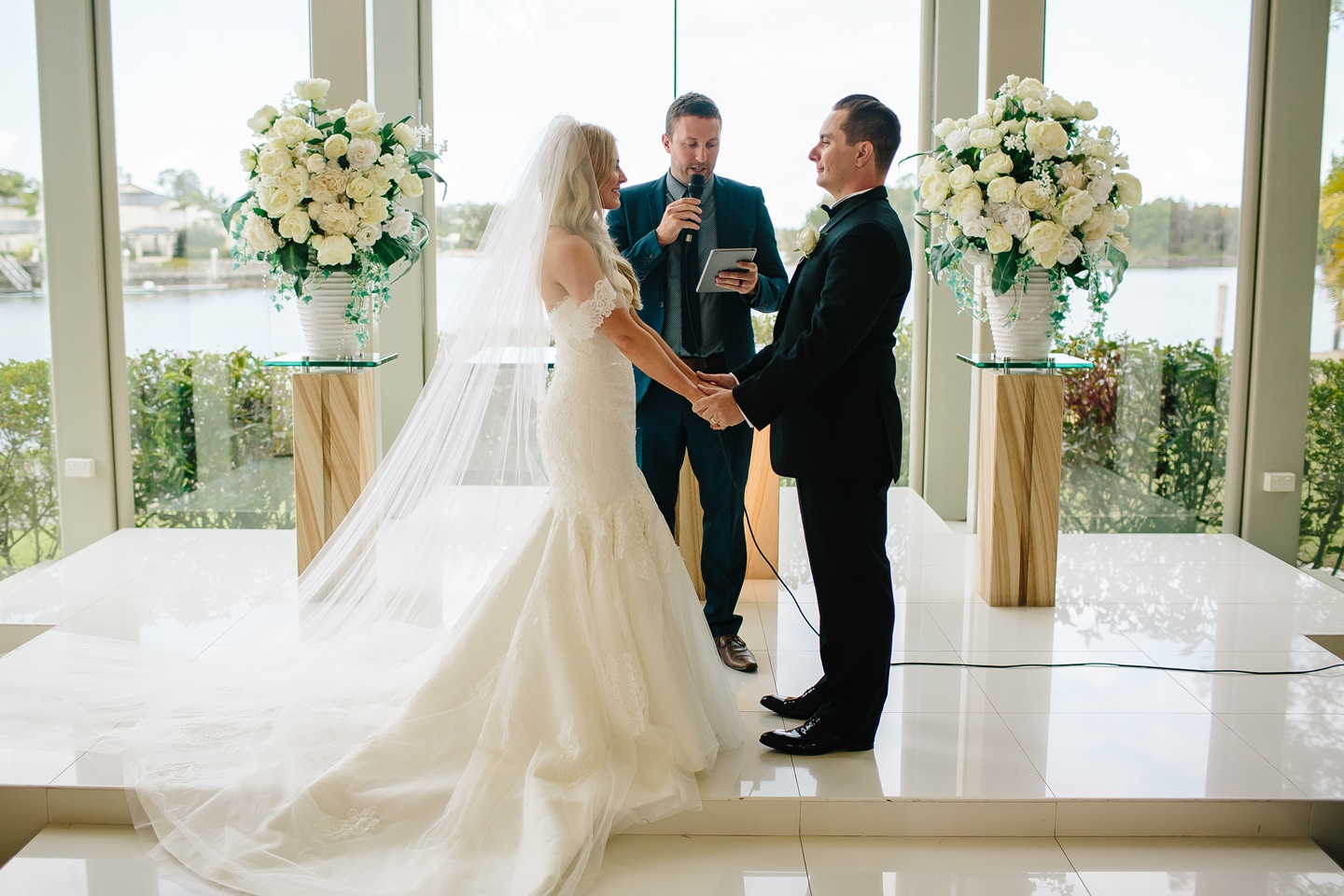 Bec & Callum Real Wedding Ceremony- #ceremony #ceremonyideas #alter #wedding #weddingideas