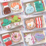 Love all of these cookie mate perfect pair valentine's day cookies! -See more of our favorite valentine's day cookies of 2019 on B. Lovely Events! #valentinesday #cookies #decoratedcookies